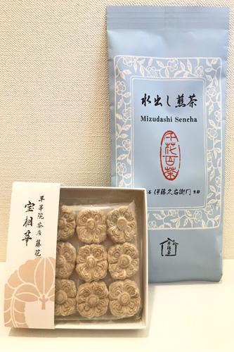 20190810宝相華と冷茶