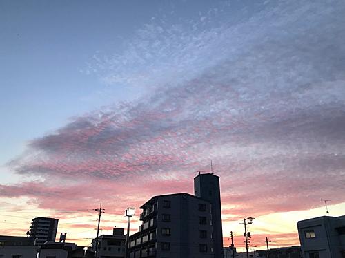 20210904夕焼け